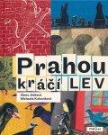 ミハエラ・クコヴィチョヴァー Michaela Kukovicova:絵 Alena Jezkova:著 / Prahou kraci LEV <チェコ絵本>