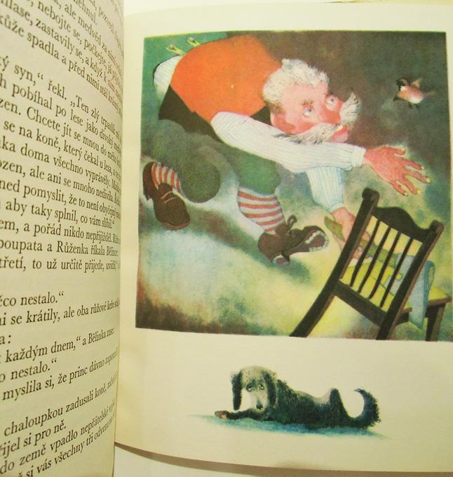 Pohadky bratri Grimmu                                    イジー・トルンカ Jiri Trnka:絵 Bratri Grimmove:著 Marie Kornelova / Pohadky bratri Grimmu <チェコ絵本>