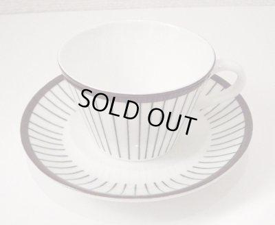 画像1: 北欧食器 スピーサ・リッブ   コーヒーカップ&ソーサー