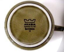 他の写真1: 北欧食器 Arabia アラビア Kosmos コスモス / ティーカップ&ソーサー