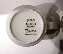 他の写真1: 北欧食器 Arabia アラビア TAIKA (タイカ) コーヒーカップ&ソーサー