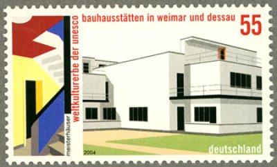 画像1: ドイツ切手 2004年発行 『バウハウス』