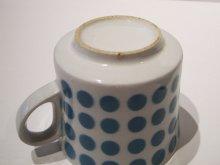 他の写真1: 北欧食器 Arabia アラビア Stencil ステンシル Polka Dot (ポルカドット) コーヒーカップ&ソーサー