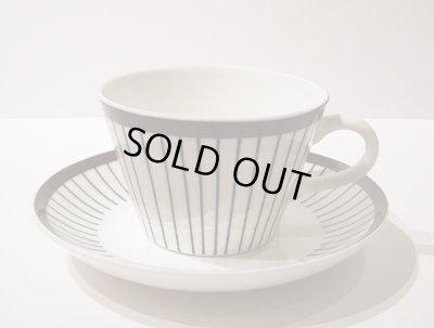 画像1: 北欧食器 グスタフスベリ Gustafsberg SPISA-RIBB スピサ・リブ コーヒーカップ&ソーサー