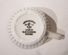他の写真1: 北欧食器 グスタフスベリ Gustafsberg SPISA-RIBB スピサ・リブ コーヒーカップ&ソーサー