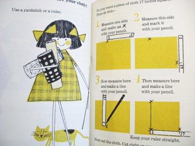 画像3: ビル・ソコル Bill Sokol:絵 Camille Sokol:著 / The Lucky Sew-it-yourself Book