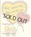 モーリス・センダック Maurice Sendak:絵  Robert Keeshan:著 / SHE LOVES ME... SHE LOVES ME NOT...