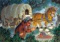 ズデネック・ミレル ポストカード(馬使いのシェイトロチカの旅-2)