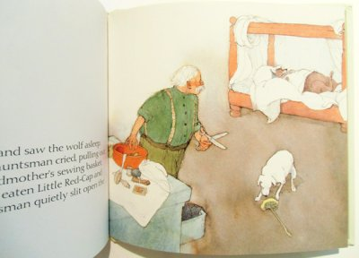 画像4: リスベート・ツヴェルガー Lisbeth Zwerger:絵 グリム兄弟 Brothers Grimm:著 / 赤ずきんちゃん LITTLE RED-CAP