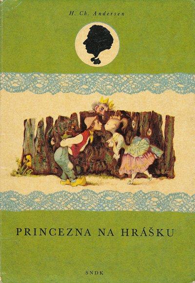 画像1: イジー・トルンカ Jiri Trnka:絵 H. Ch. Andersen:著 / PRINCEZNA NA HRASKU <チェコ絵本>