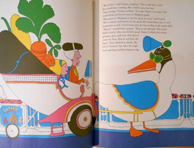 画像3: シーモア・クワスト Seymour Chwast:絵 Joan Gill:著 / Sara's Granny and the Groodle