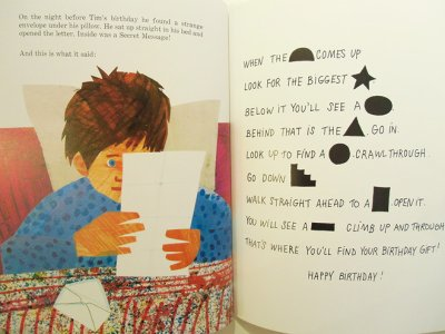 画像2: エリック・カール Eric Carle / The Secret Birthday Message