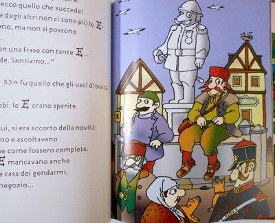 画像3: フランチェスコ・トゥーリオ・アルタン Francesco Tullio Altan:絵 ロベルト・ピウミーニ Roberto Piumini:著 / Simion Tak e gli uccelli alfabetici