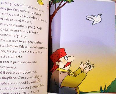 画像4: フランチェスコ・トゥーリオ・アルタン Francesco Tullio Altan:絵 ロベルト・ピウミーニ Roberto Piumini:著 / Simion Tak e gli uccelli alfabetici