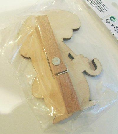 画像2: クルテク 木製クリップ (傘)