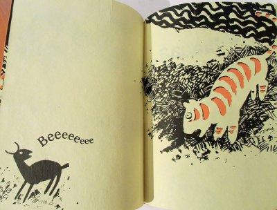 画像3: Pulak Biswas:絵 Anushka Ravishankar:著 / Una Tigre!? su un Albero?